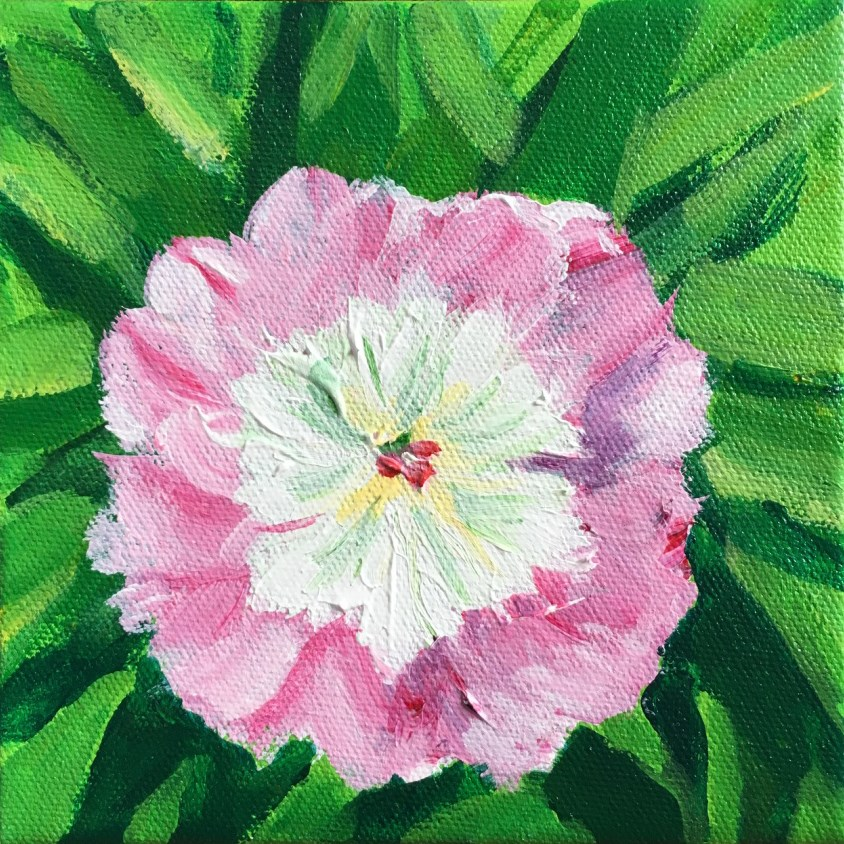 """Flower"" original fine art by Betsy Cook"