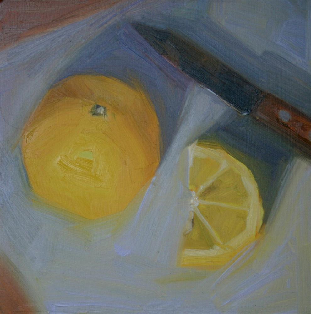 """Slice"" original fine art by Liz Balkwill"