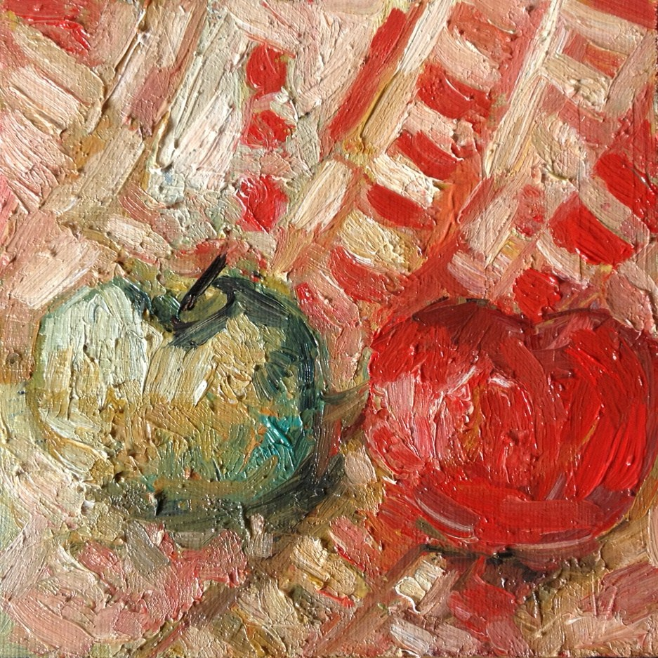 """Fruits 2"" original fine art by Monica Pinotti"