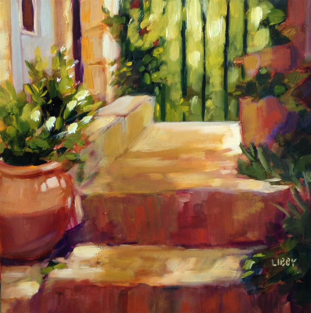 """Sun and Shadow"" original fine art by Libby Anderson"