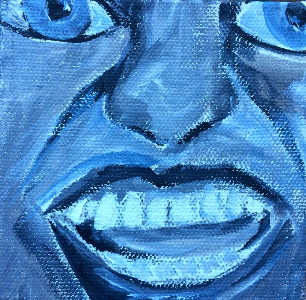 """Expressions - Hysteria"" original fine art by Kimberly Balentine"