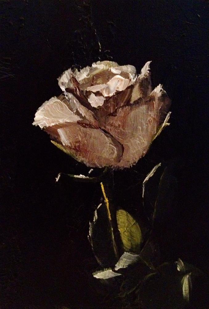 """Quick Rose Study"" original fine art by Gary Bruton"