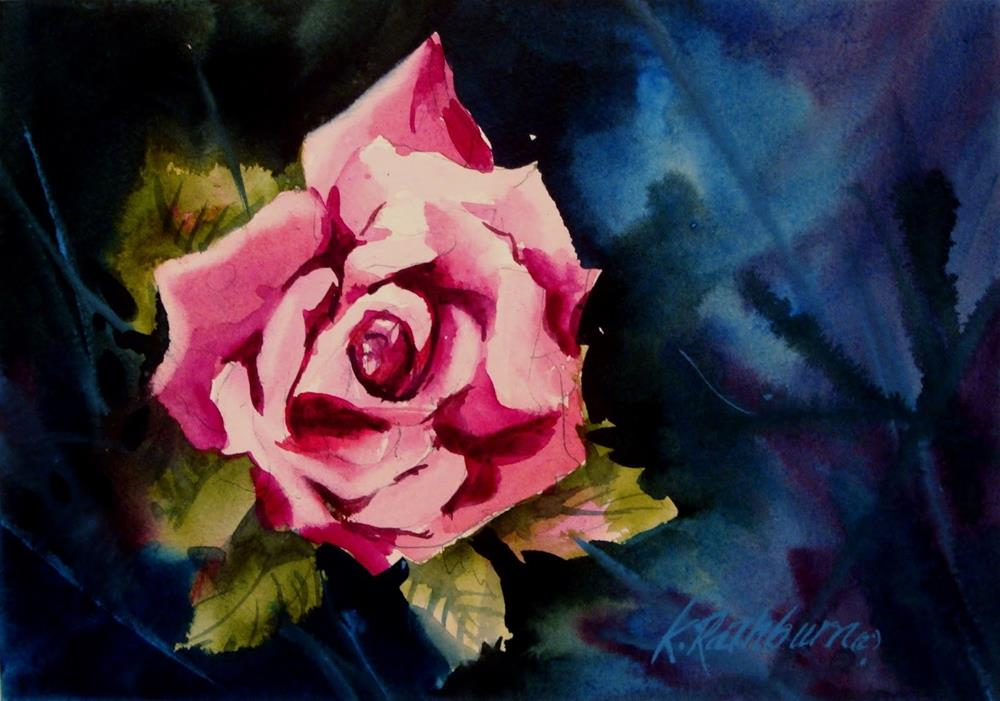 """Rosey Pink"" original fine art by Kathy Los-Rathburn"
