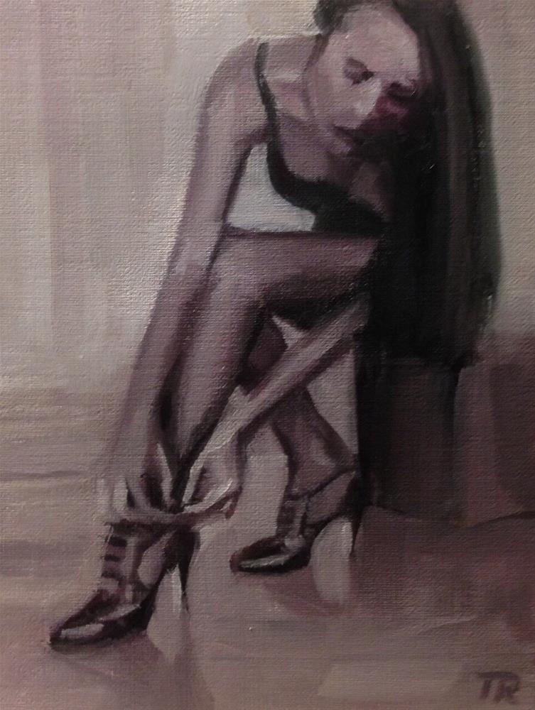 """Booting the Dancer"" original fine art by Thomas Ruckstuhl"