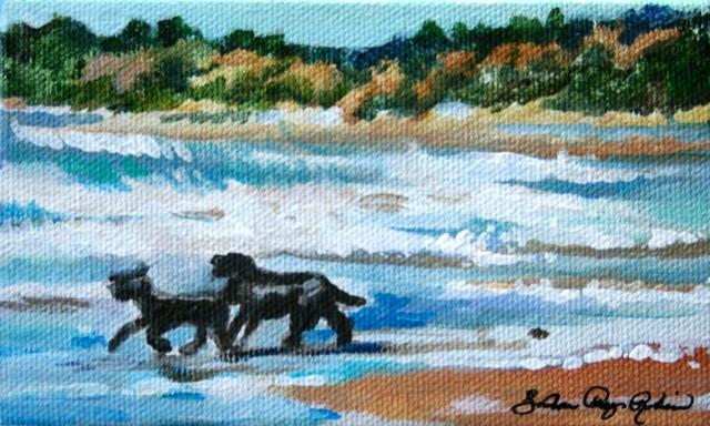 """Beast Buddies"" original fine art by JoAnne Perez Robinson"