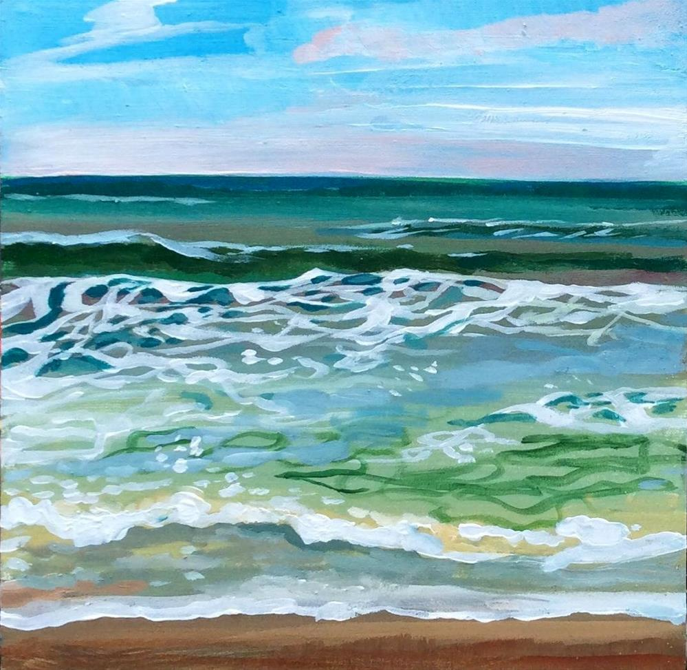 """Dreaming Seaside"" original fine art by Lauren Kuhn"