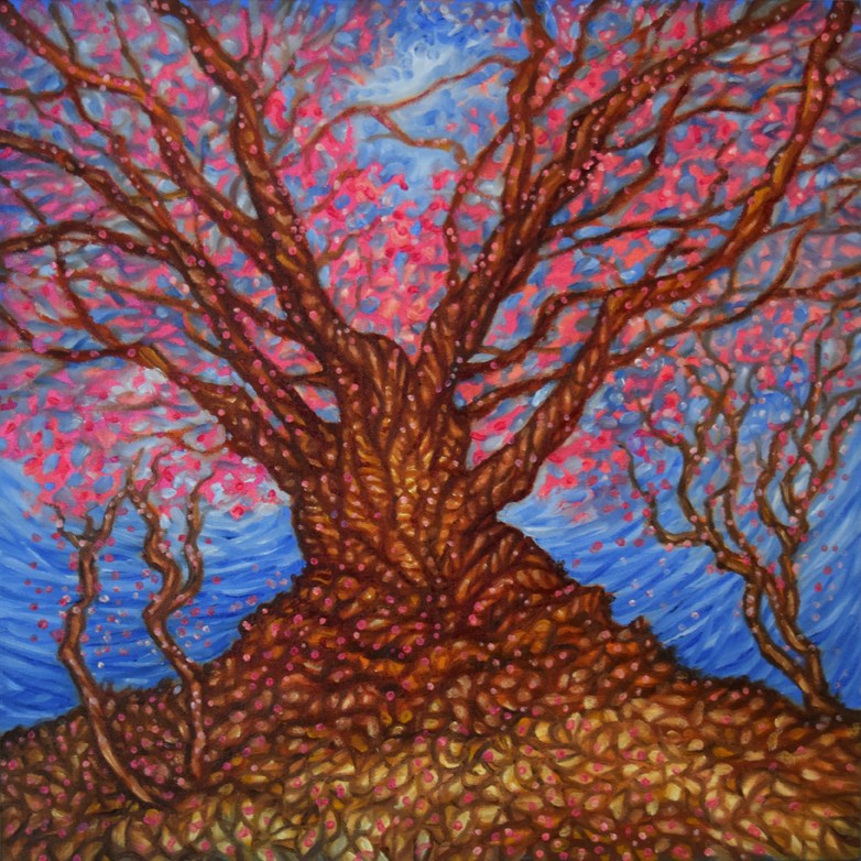 """Looking Up"" original fine art by Lori Fredricks"
