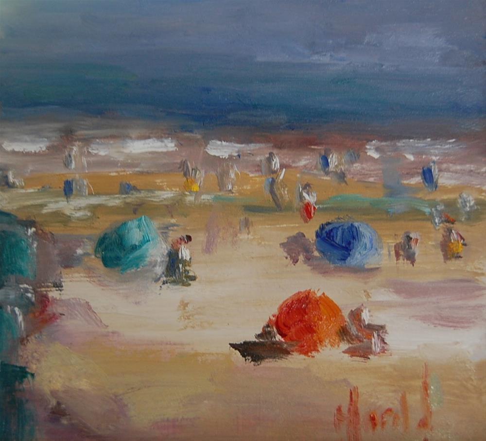 """""""Crystal Cove Time"""" original fine art by Deborah Harold"""