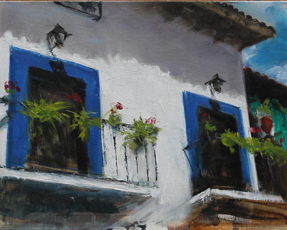"""""""Taxco"""" original fine art by Karen Solorzano"""