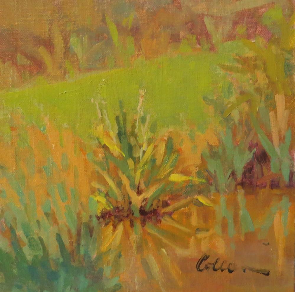 """Little Pond"" original fine art by Colleen Parker"