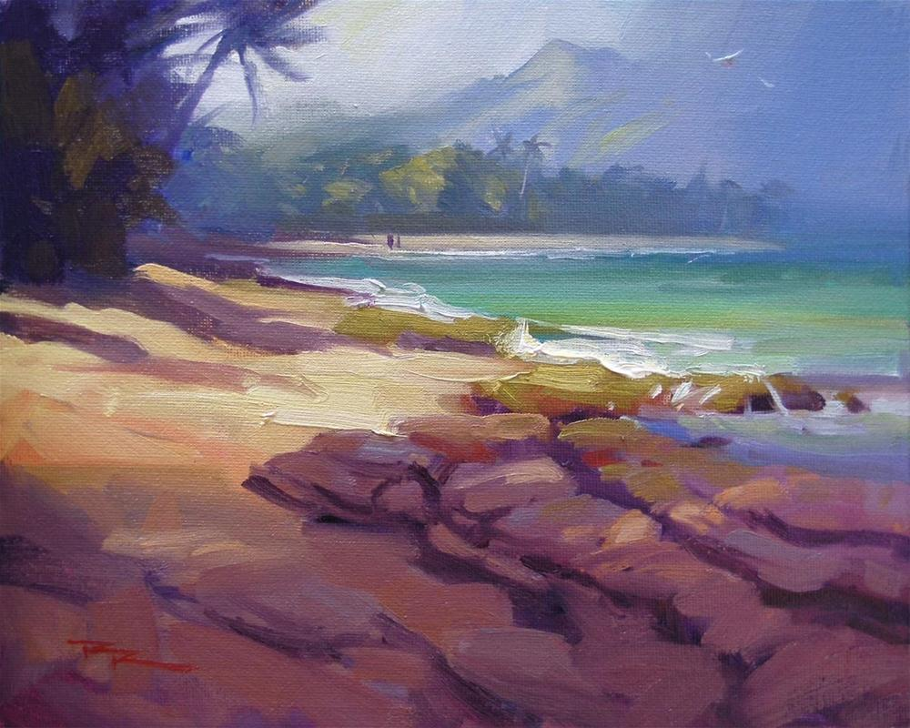 """Lost in Paradise II"" original fine art by Richard Robinson"