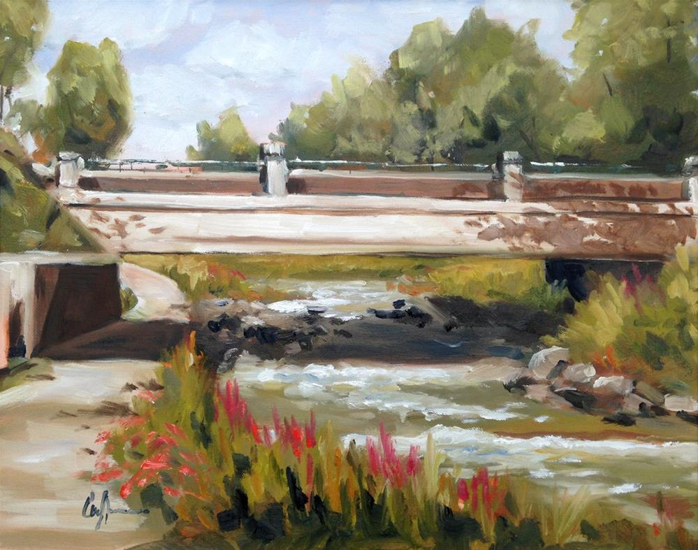 """Mill Creek Park"" original fine art by Cornelis vanSpronsen"