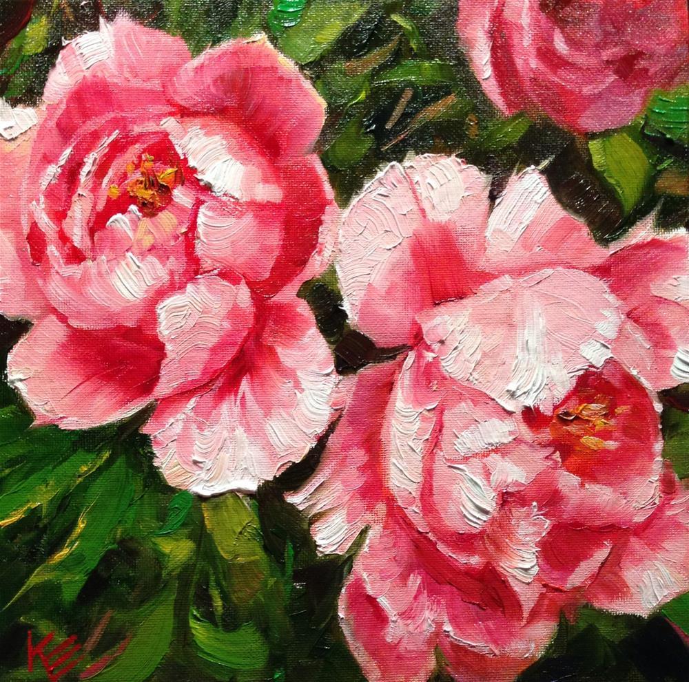 """Expressions of Joy"" original fine art by Krista Eaton"