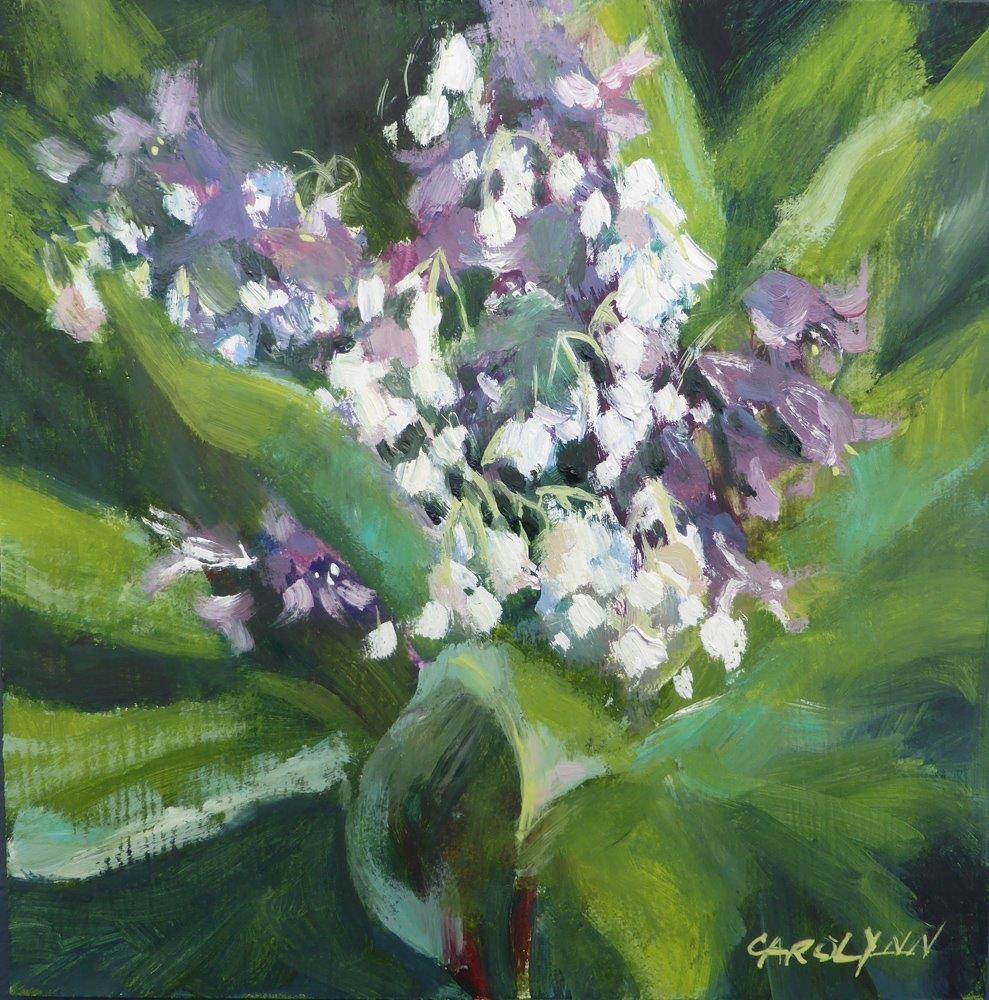 """""""Spring Explosion"""" original fine art by Carolynn Doan"""