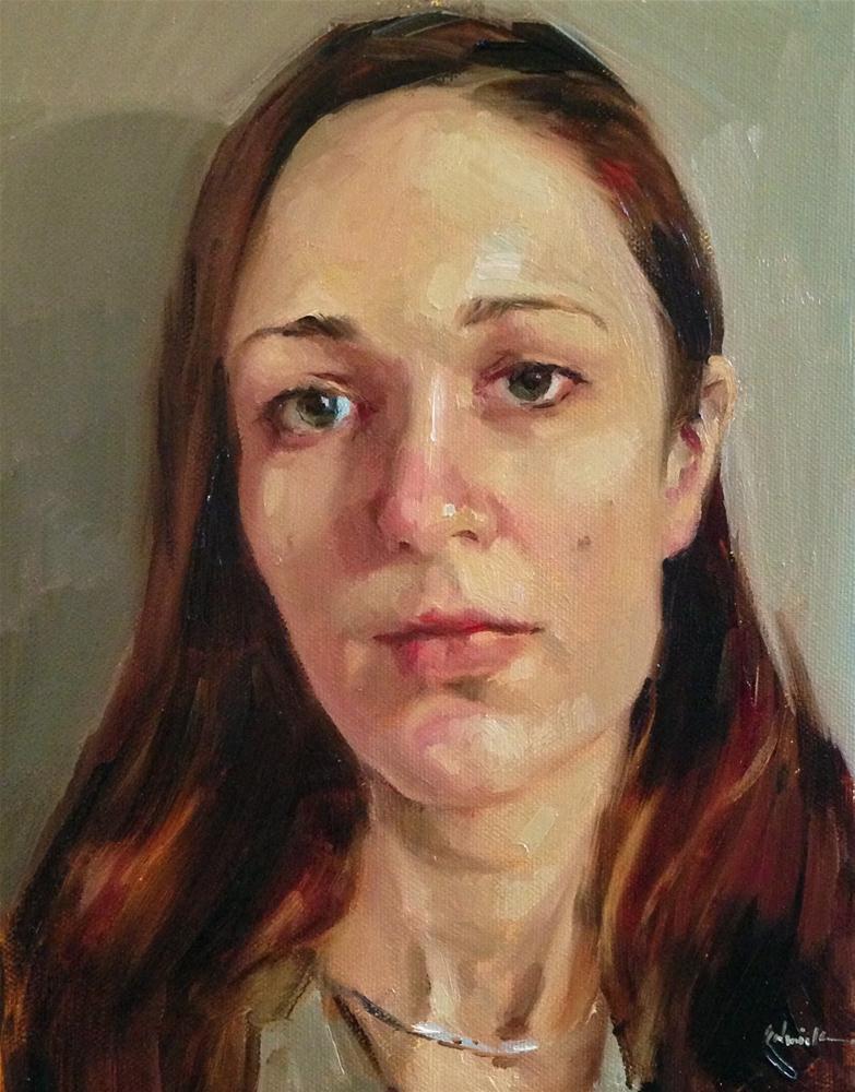 """A Self Portrait...wonders will never cease."" original fine art by Sarah Sedwick"