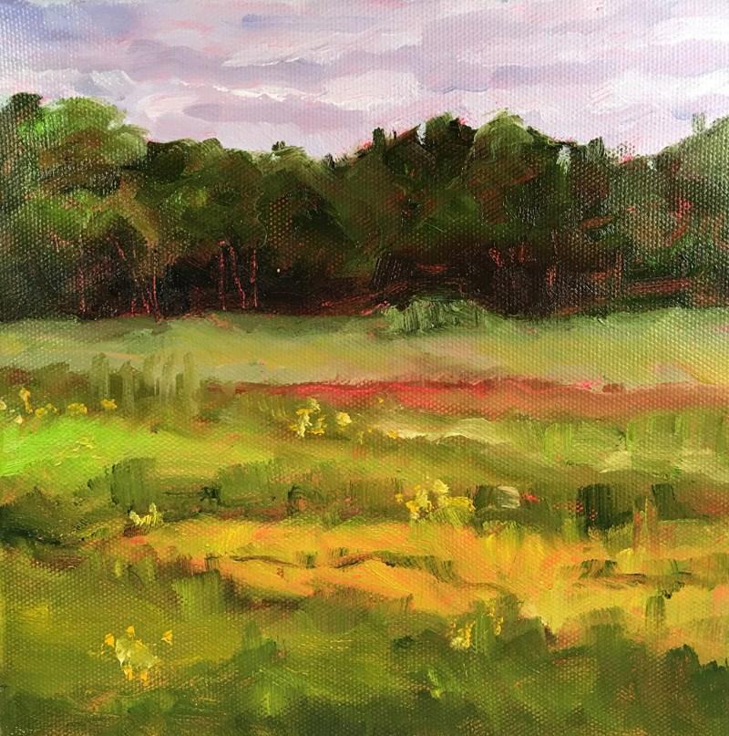 """""""Open Lands"""" original fine art by Maria McNitt"""