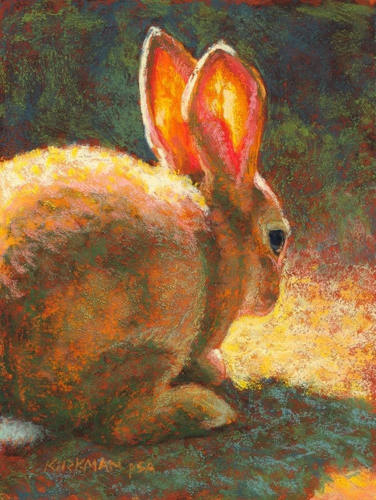 """Honey Bun"" original fine art by Rita Kirkman"