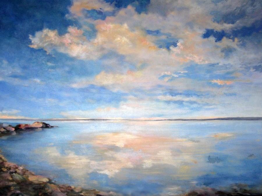 """""""Calming Down"""" original fine art by Cathy Boyd"""