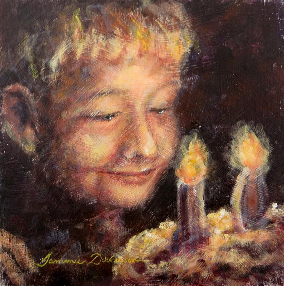 """Birthday Boy"" original fine art by Tammie Dickerson"