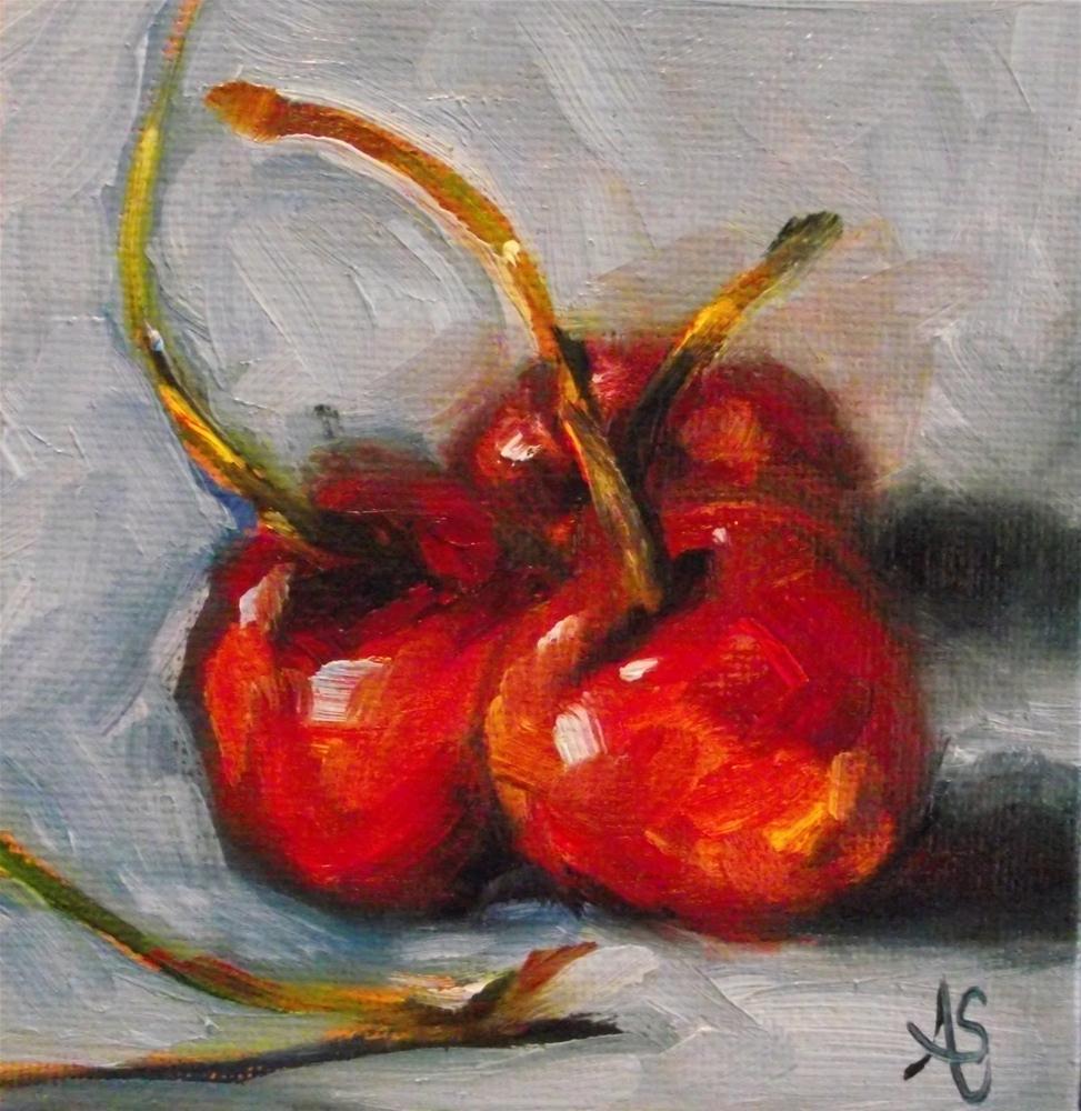 """Stemulated"" original fine art by Angela Sullivan"