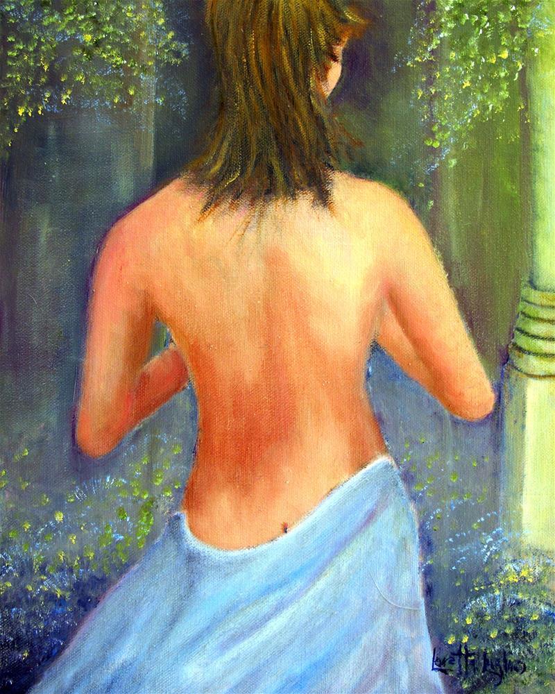 """Joyful Solitude"" original fine art by Loretta Luglio"