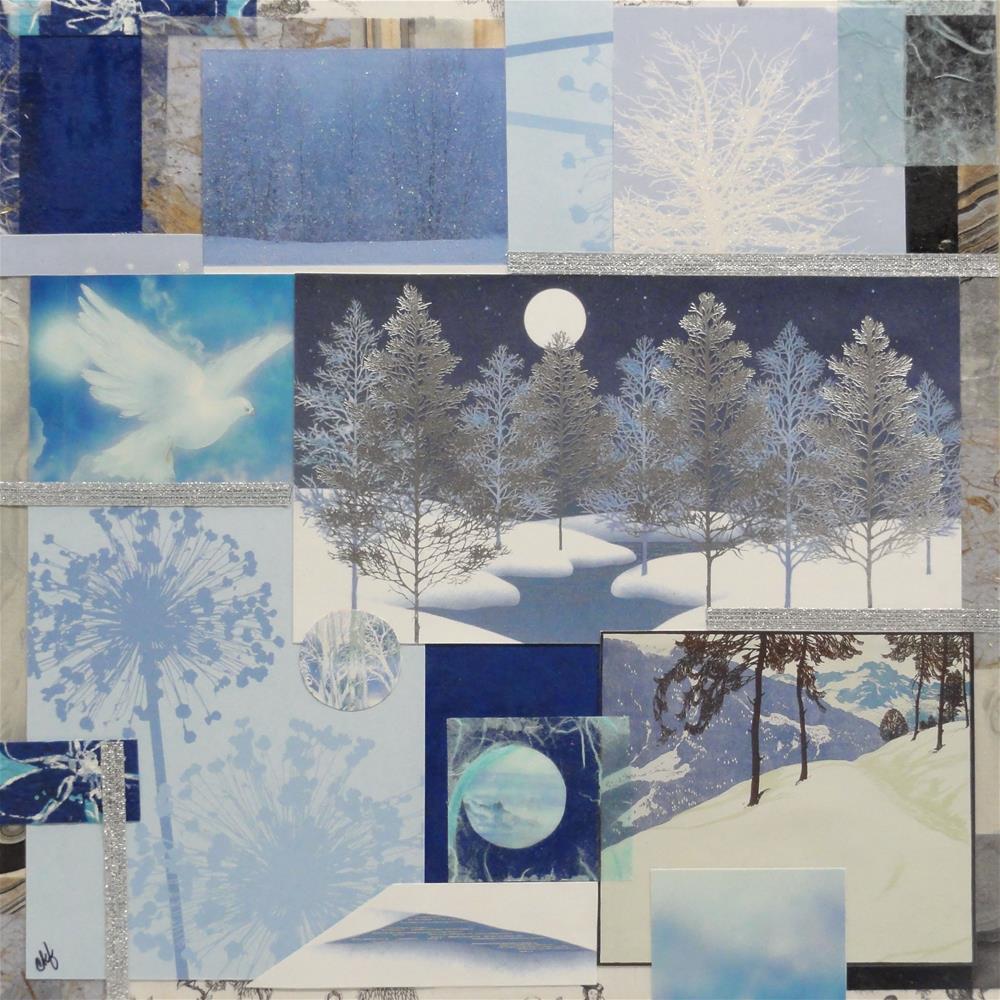 """""""All is Calm"""" original fine art by Cynthia Frigon"""