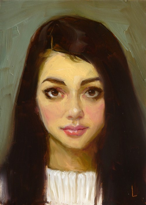 """Honey"" original fine art by John Larriva"