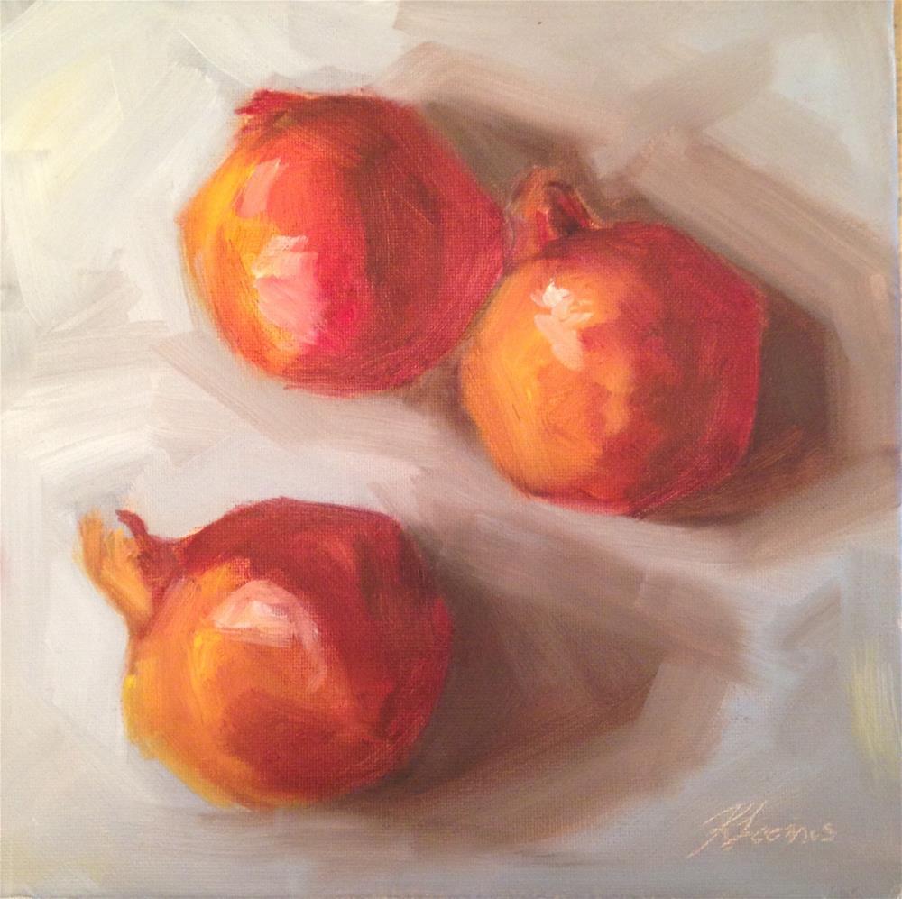 """Pomegranates"" original fine art by Kylie Loomis"