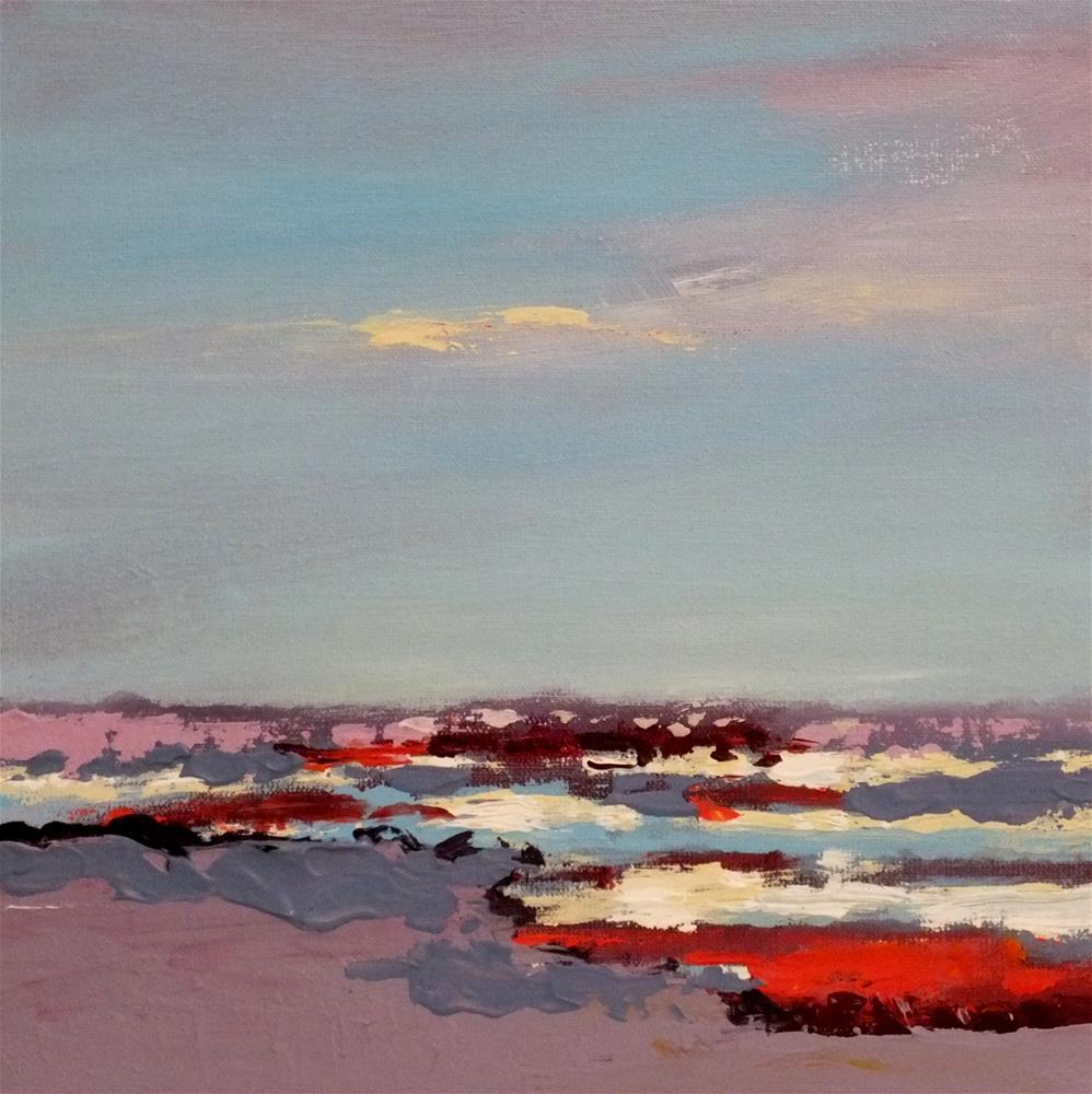 """Landscape 169"" original fine art by Ewa Kunicka"