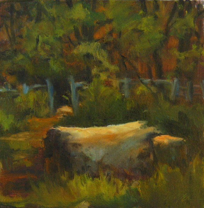 Into the Woods original fine art by Connie Snipes