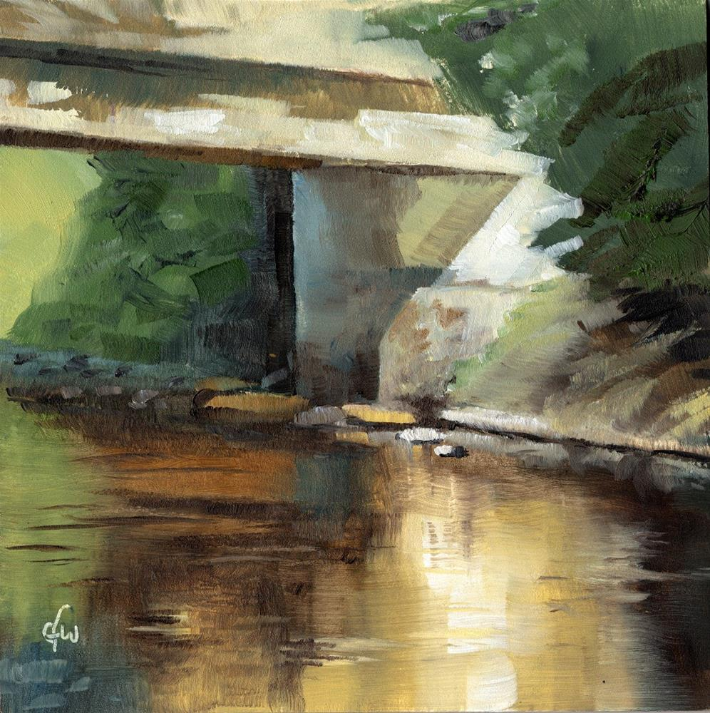 """Under the Bridge"" original fine art by Gary Westlake"