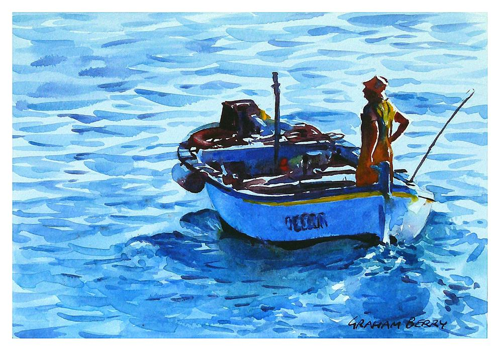 """Heading out to sea."" original fine art by Graham Berry"