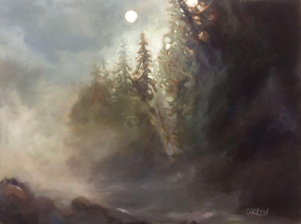 """""""High Noon - November"""" original fine art by Carolynn Doan"""