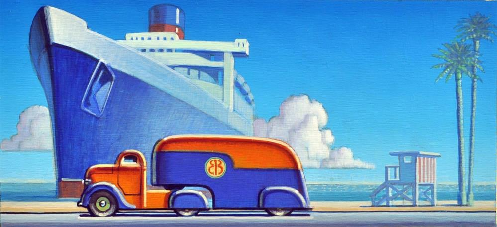 """Ocean View"" original fine art by Robert LaDuke"