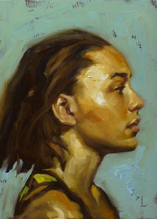 """Aurous"" original fine art by John Larriva"