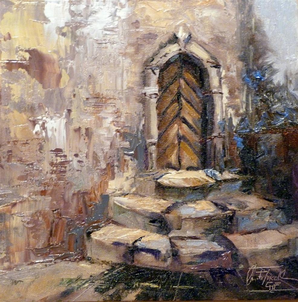 """Entrance"" original fine art by Christa Friedl"
