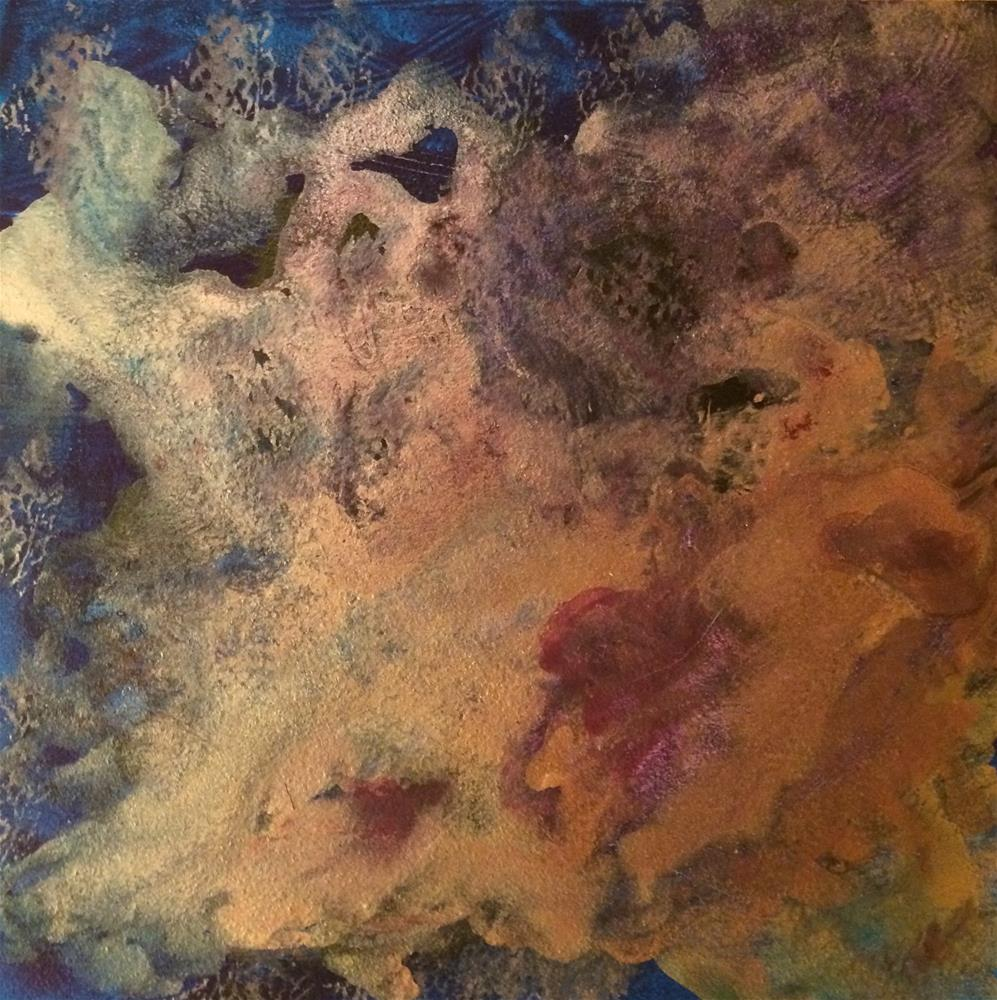"""Nebula"" original fine art by Susan Medyn"