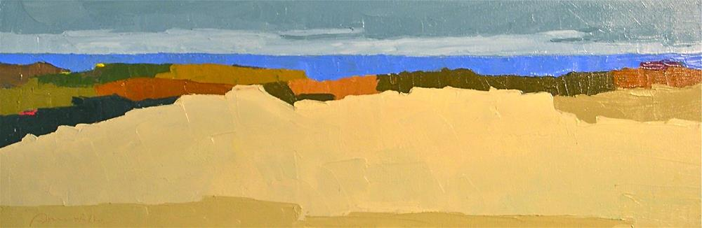 """Seaview IV"" original fine art by Donna Walker"