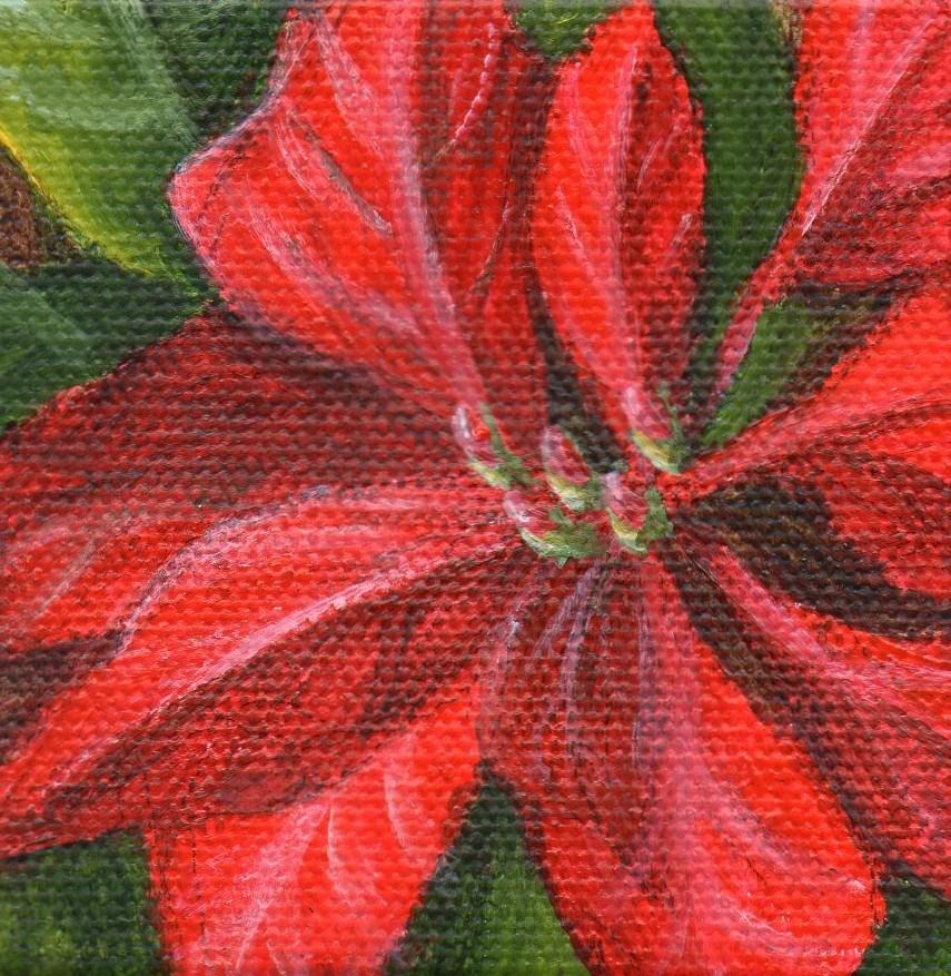 """Holiday Color"" original fine art by Debbie Shirley"