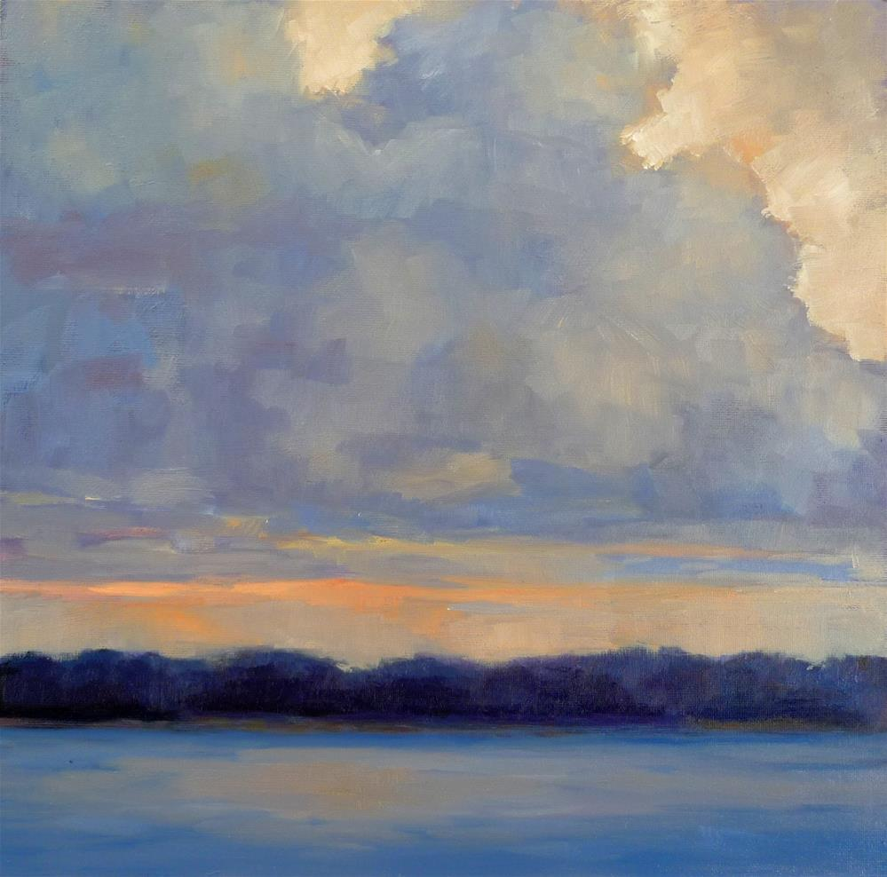 """Cloudscape"" original fine art by Lisa Kyle"