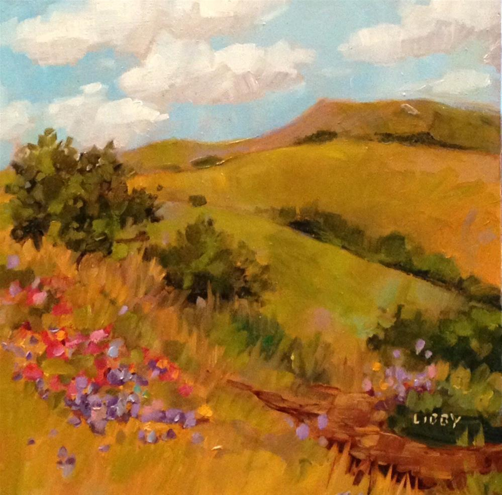 """Beauty Hike"" original fine art by Libby Anderson"