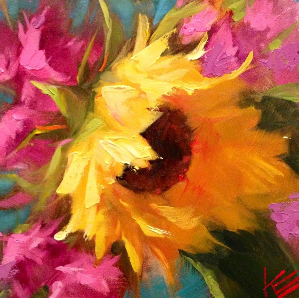 """Sunshine Embrace"" original fine art by Krista Eaton"