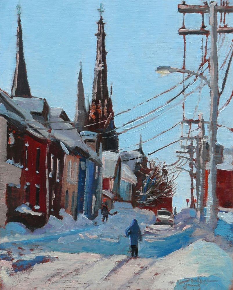 """550 Charlottetown"" original fine art by Darlene Young"
