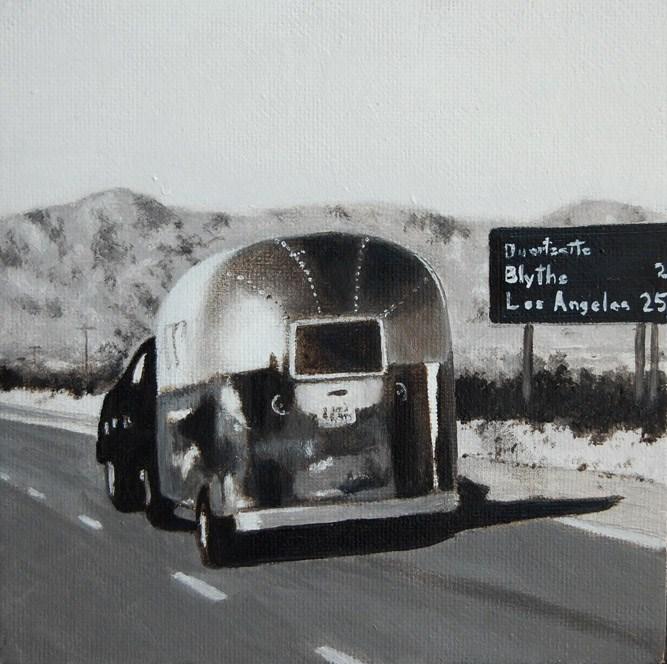 """BACK HOME"" original fine art by Gerald Schwartz"