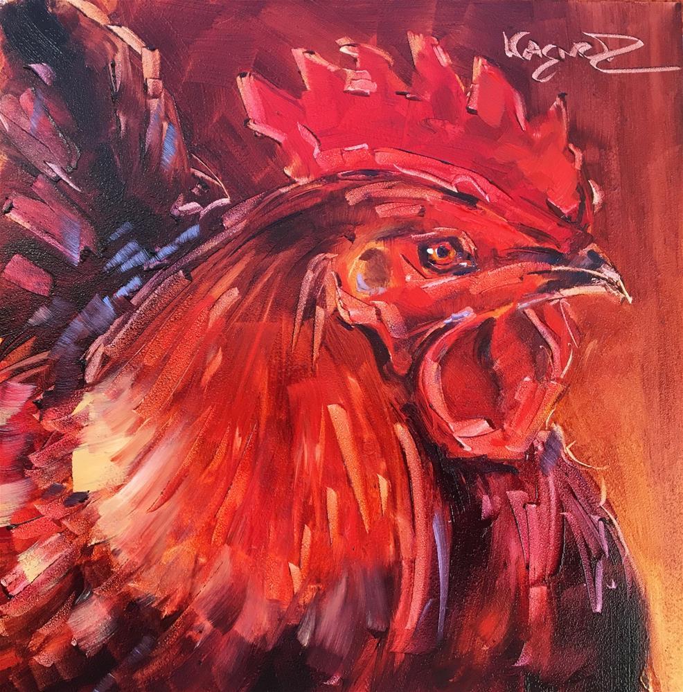 """WOW"" original fine art by Olga Wagner"