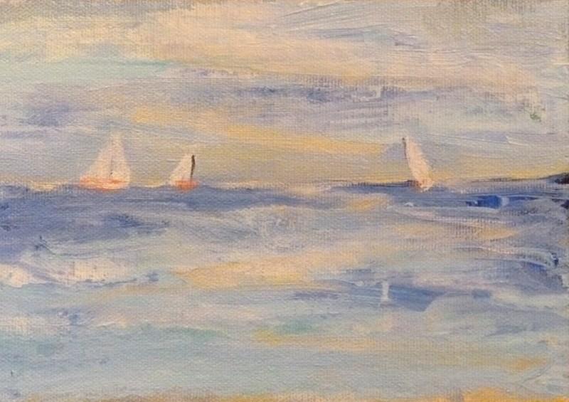 """Seaworthy"" original fine art by Jo-Ann Sanborn"