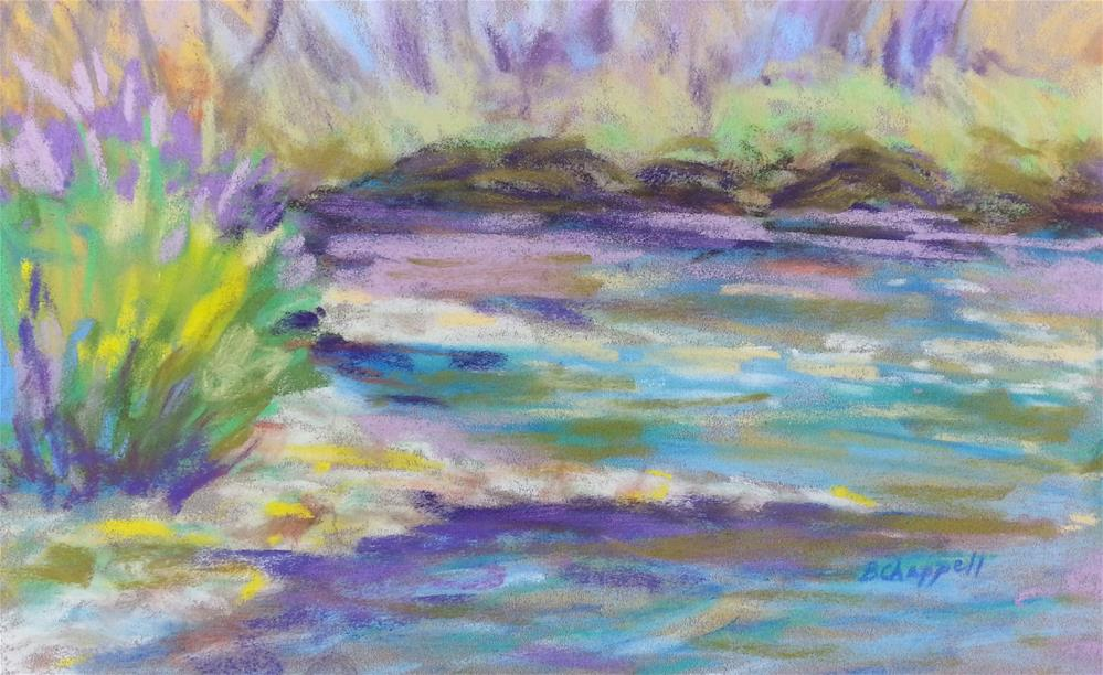 """Neversink Pool"" original fine art by Becky Chappell"