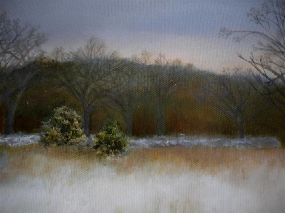 """Wheeler's Field"" original fine art by Hilarie Johnson"