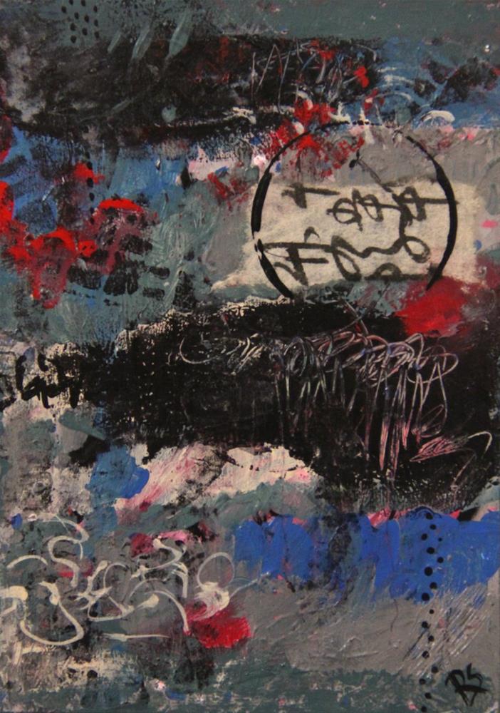 """""""The Rain Must Fall"""" original fine art by Roberta Schmidt"""