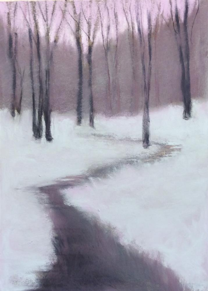 """Let Me Know the Way"" original fine art by Judy Albright"